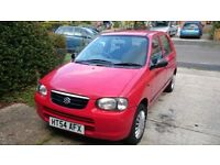 Suzuki ALTO bargain. great little car