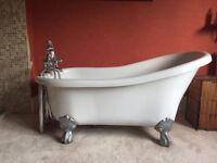 Bath, sofa, wardrobes, bathroom cabinet for sale