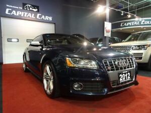 2012 Audi S5 4.2L PREMIUM / 6 SPEED / NAVIGATION