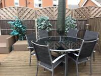 Outdoor 6 seater dining furniture