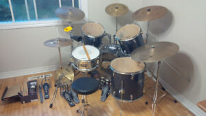 5 pc+ drumset for sale
