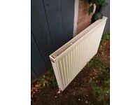 Wall hung double radiator 800w x 600h