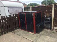Heavy duty generator housing / storage