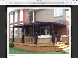 16ftx12ft Awning