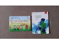 Cool Clarinet tuition book & Cd, plus Grade 1 Clarinet music