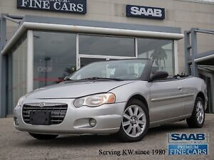 2005 Chrysler Sebring GTC Convertible  Leather/Power Top