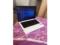 laptop hp 15.6 inch wide 4g ram 500g hard drive win 10 ms office hdmi,dvd,web c