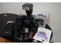 Canon 50D Huge Bundle - 2 lenses, Flash, Wireless Triggers and Canon Grip