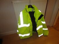 Gore-Tex Jacket, Rainjacket and overtrousers, Welders overall, and Jacket
