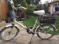 Retro Raleigh Compact folding ladies bicycle