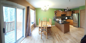 Furnished rooms available in 1600 sq ft townhouse.