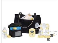 New and unopened Medela Freestyle Double Electric Breastpump with Calma