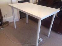 Ikea white desk 60x120 cm (3 available)