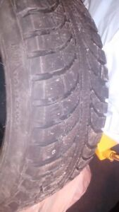 4 Winter Tires  like new  205/55 R16    Ice Pro Studable