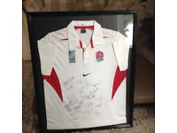 2003 England World Cup Winners Signed Shirt
