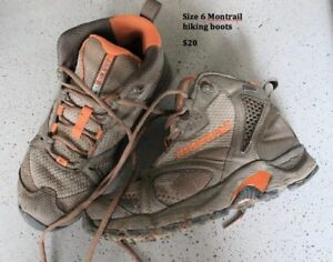 Women's Size 6 Montrail Hiking Boots