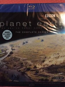 Brand New Never Opened BBC Planet Earth Blu Ray