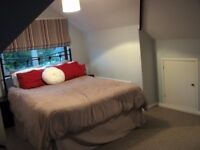 Double room (for couples) in a lovely chalet bungalow