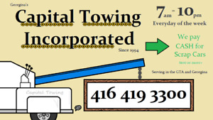 Professional Scrap Car Removal and Towing Service (416-419-3300)