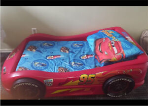 Lightly McQueen Toddlers Bed