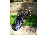 Nice set of Wilson Golf Clubs. . Ideal for a beginner or Improver