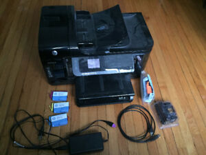 HP Officejet 6500A with ink