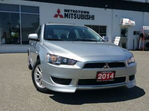 2014 Mitsubishi Lancer SE; Certified Pre-owned!