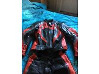 Rk leathers two piece