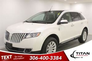 2013 Lincoln MKX AWD Back-up Cam Nav PST Paid