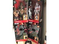 Star wars deluxe action figures rrp £99.99 each