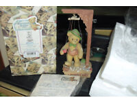 "CHERISHED TEDDIES ""PINOCCHIO"" THIS ONE AS NOW RETIRED FROM THE COLLECTION"