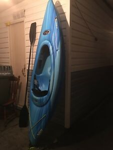 New Kayak, paddle and vest OBO