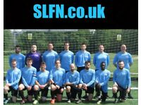 Join one of our teams. PLAYERS WANTED. Find football in London, play football in London, l3798732d