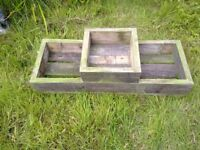 Large 3 stepped planter