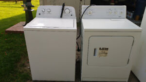 Kenmore Washer & Dryer (white)