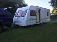 Lunar Lexon es 4berth fixed bed 2004/3 separate toilet and shower 🚿 single axle oven hobs and