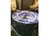 Spode Cake Plate, raised