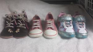 Size 7 Toddler shoe lot