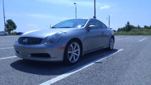 2003 Infiniti G35 Coupe 6MT (2 door) - 61400 kms