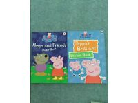 Peppa pig sticker books