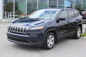 2014 Jeep Cherokee SPORT*BLUETOOTH*AC*CRUISE*GR ELEC*