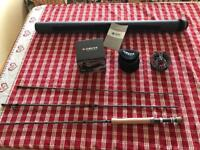 Brand new greys fly fishing rod and reel.