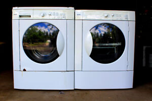 Kenmore washer front load + dryer stackable combo