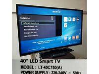 SMART JVC LT-40C750 40 INCH HD 1080P LED TV