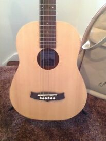 Tanglewood Travel Guitar and case VGC.