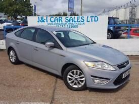 FORD MONDEO 1.6 ZETEC TDCI 5d 114 BHP A GREAT EXAMPLE INSIDE A (silver) 2012