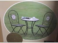 Mosaic 3pc patio set