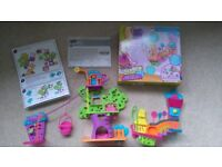 Polly Pocket Wall Party Sweet Shop and Treehouse - Low price for quick sale!