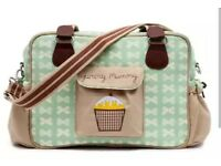 Brand new with tags Yummy mummy pink lining changing bag