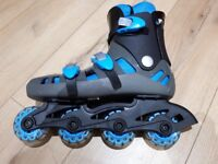 In-line Skates/Urban Sk8r/Full set of protection pads (knee/elbow/wrist)/size 6/7/with box